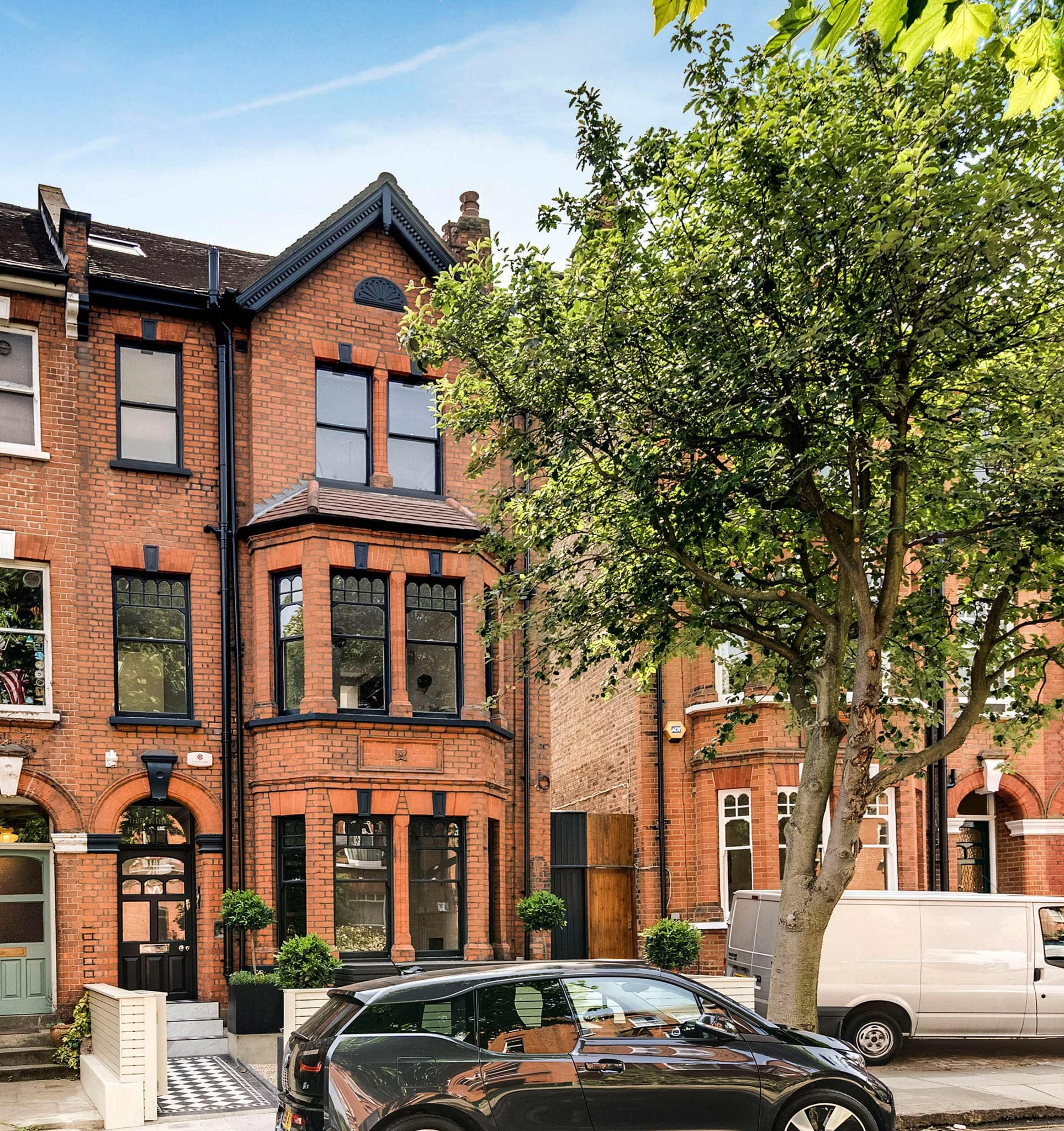 Hampstead Heath - residential house full refurbishment extension period property traditional details
