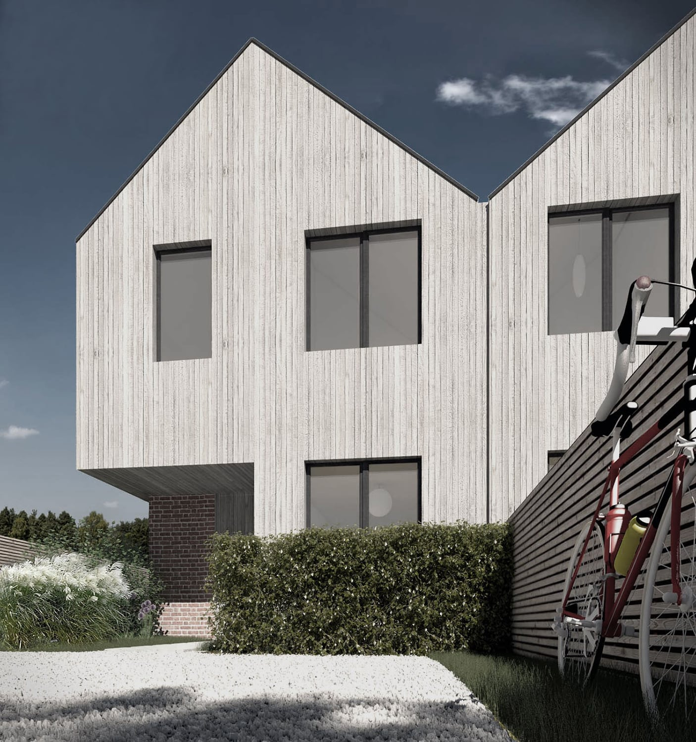 Wiltshire - new build house passivhaus