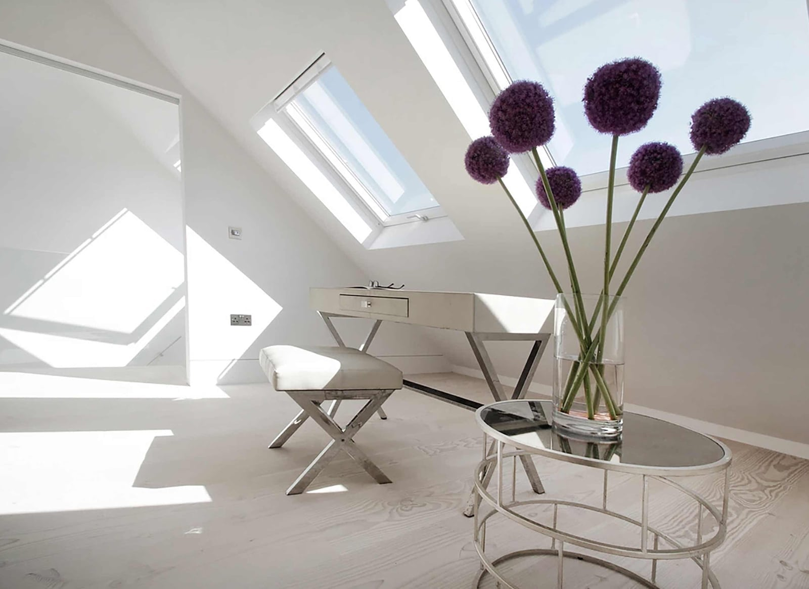 Hampstead Heath - residential house full refurbishment loft conversion skylights