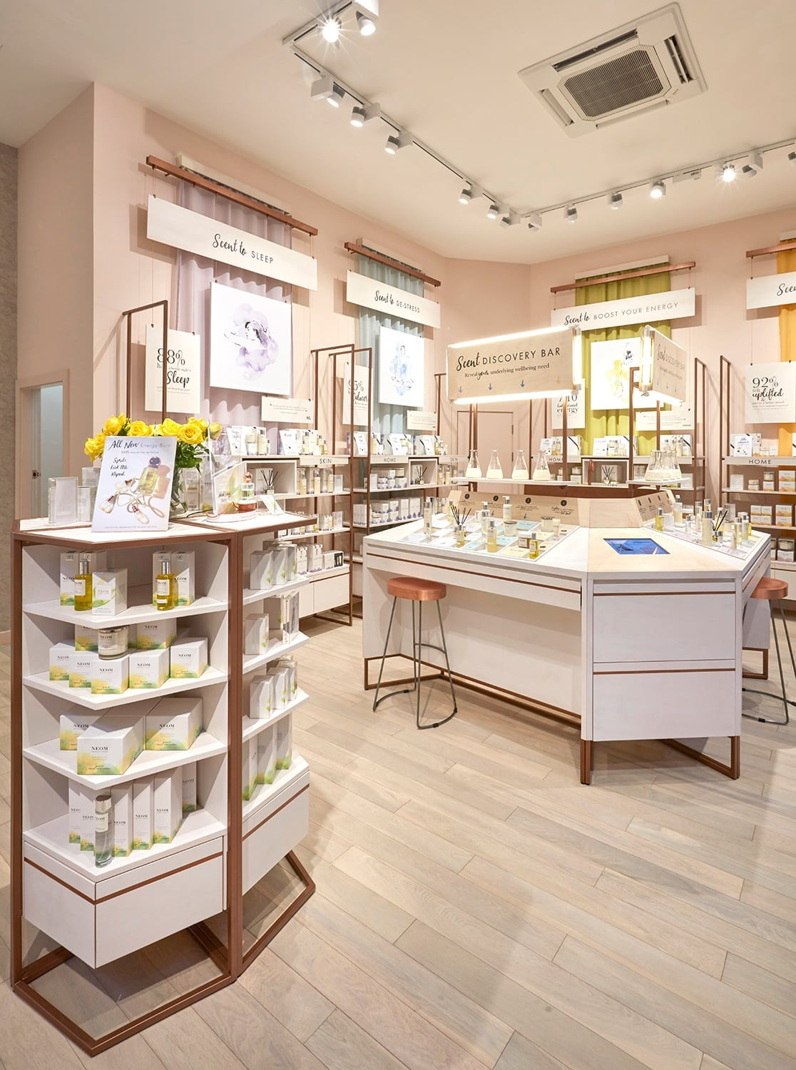 Neom retail design project