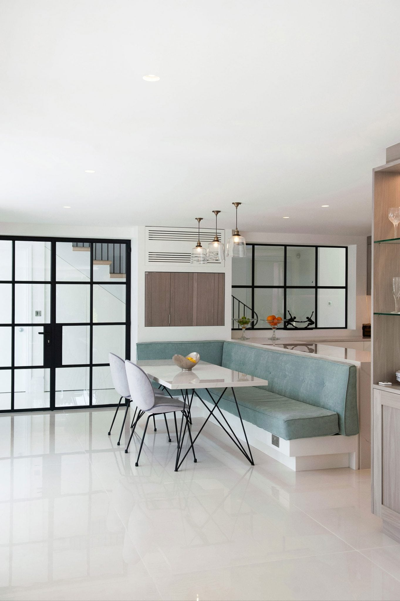 Berkshire - mansion bespoke kitchen interior design crittall