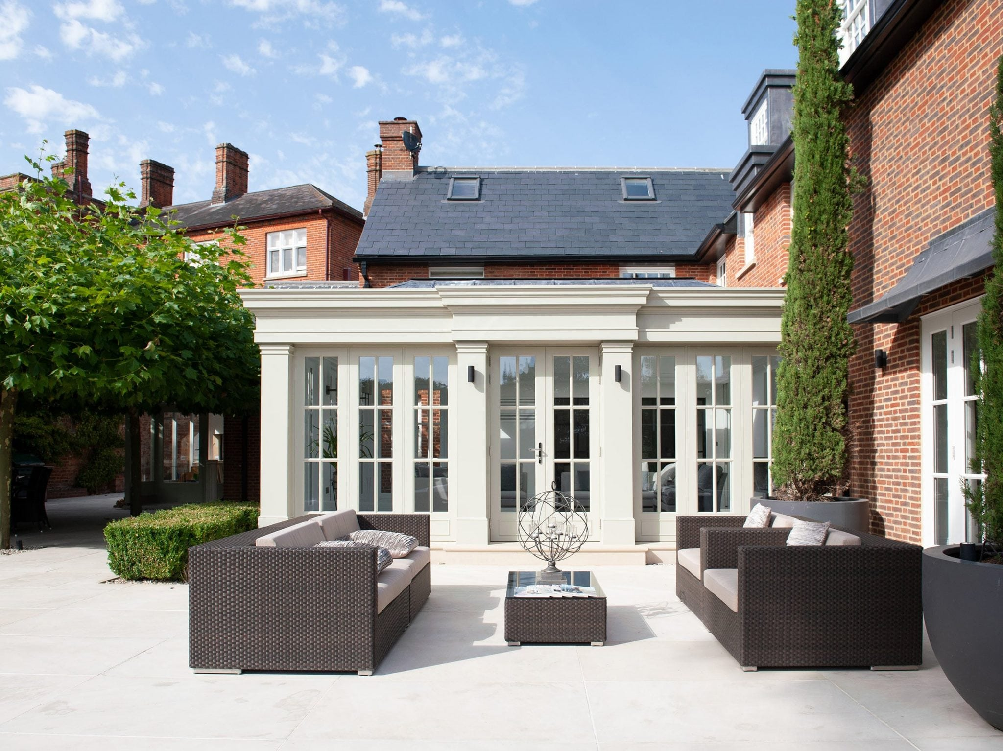 Berkshire - mansion orangery bespoke architecture conservatory period property