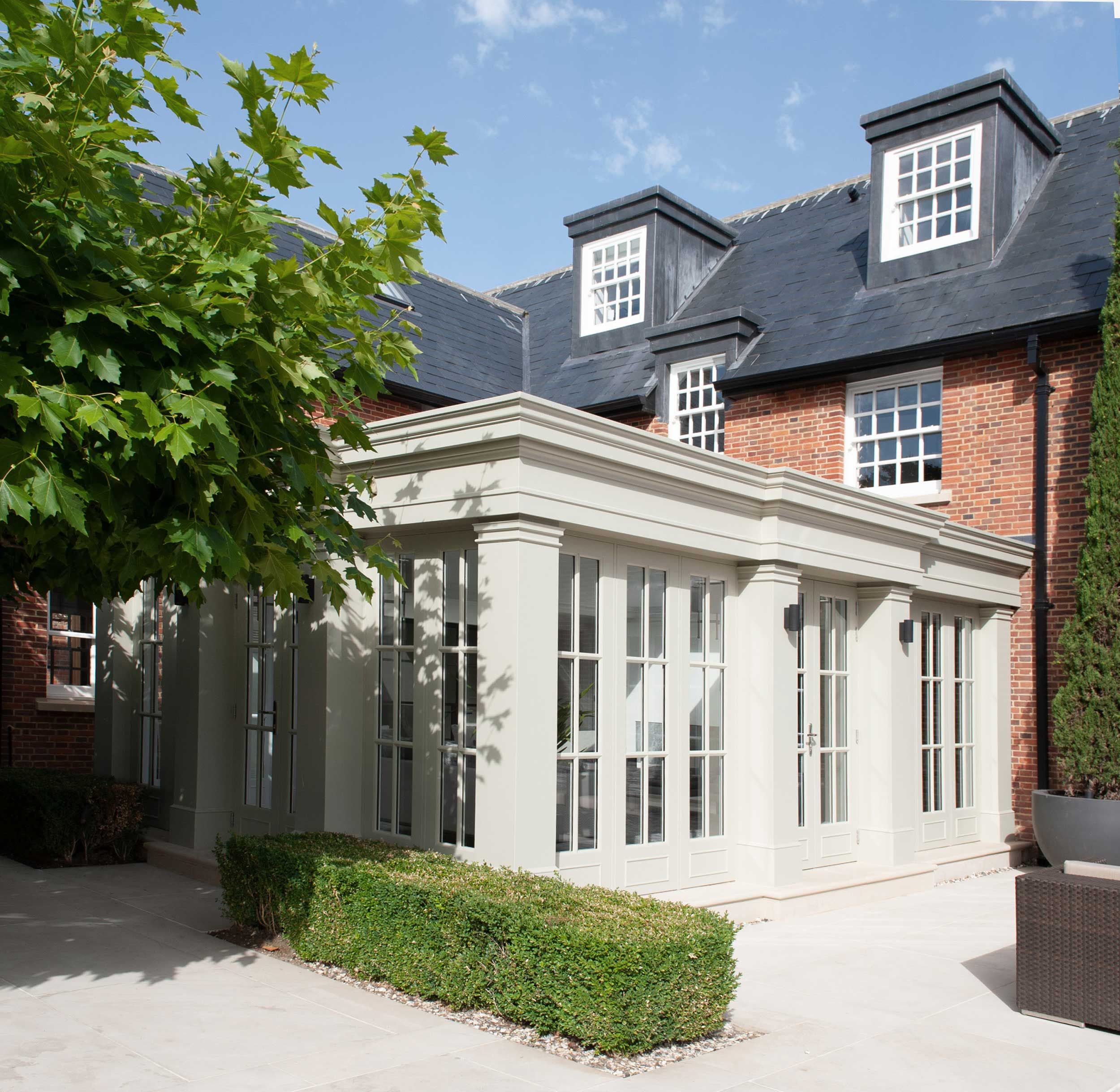 Berkshire - country house orangery bespoke traditional architecture